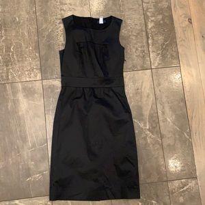 J.Crew midi dress in black size 2